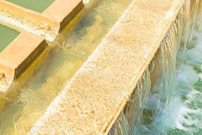 impianto di trattamento delle acque reflue